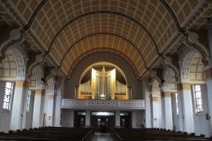 Ludwigshafen - Rheingönheim, St. Josef, Orgelprospekt