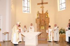 St. Stephanus Albersweiler, Südliche Weinstraße, Altarweihe am 24.05.2009