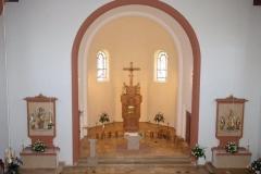 St. Stephanus, Albersweiler, Südliche Weinstraße, neue Chorraumgestaltung